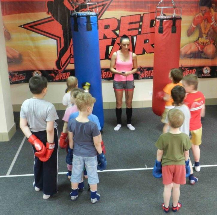 Тренировки по тайскому боксу для детей в Омске