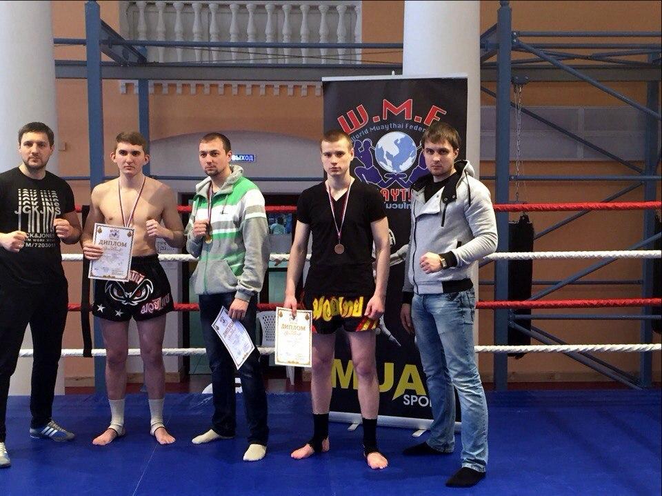 Вячеслав Горшков, серебряный призер межклубного турнира по муай тай