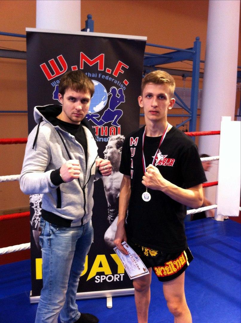 Сергей Утробин, чемпион межклубного турнира по тайскому боксу